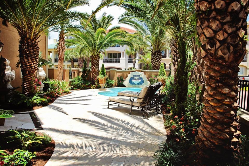 emerald coast nursery landscape pool design