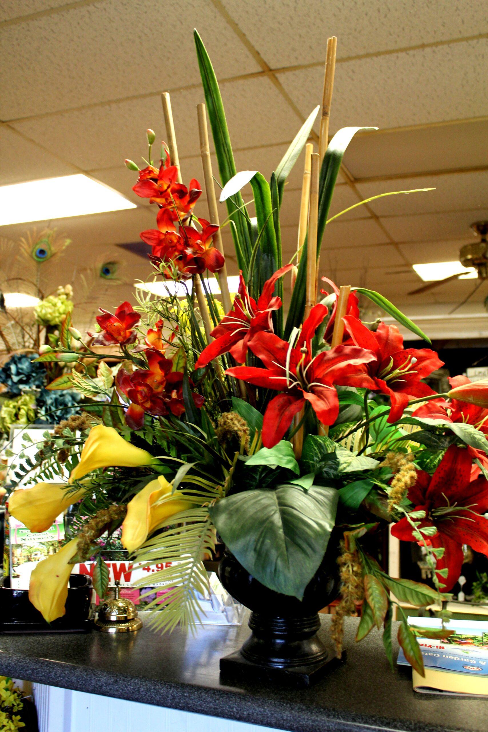 floral arrangement emerald coast nursery
